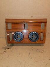 MERCEDES W124 Wood Wooden Zebrano Centre Console Trim Piece Coupe Saloon