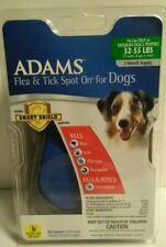 New Adams Flea & Tick Spot On Medium Sized Dogs Dog 32- 55 lbs 3 Mth Supply