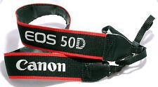 CANON CAMERA STRAP for EOS 50D DIGITAL Grey Red Black GENUINE ORIGINAL