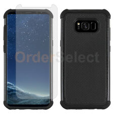 For Samsung Galaxy Note 8 Case Hybrid Shockproof Cover+LCD HD Screen P