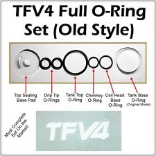 TFV4 Full ORing Kit OLD STYLE BASE ( ORings O-Rings smok Seals ) LEAKBUSTERS!