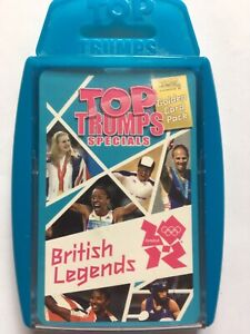TOP TRUMPS - BRITISH LEGENDS