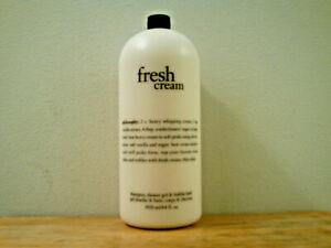 Philosophy Fresh Cream Shampoo & Shower Gel (64 oz) Brand New & Sealed