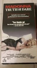 Madonna~ 'Truth or Dare' (Vhs-1991) Excellent tested