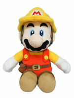 Sanei Boeki Super Mario Maker 2 Builder Mario Plush Doll Size S Stuffed Toy