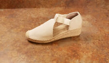 New! Tory Burch 'Catalina 3' Espadrille Wedge Pumps Natural Womens 9 M MSRP $198