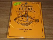 24 FLUKE RIGS FLATFISH TIDE RITE R563Y FLOUNDER SALTWATER RIG FISHING MUSTAD