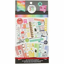 me & my BIG ideas Sticker Value Pack - The Happy Planner Scrapbooking Supplies -