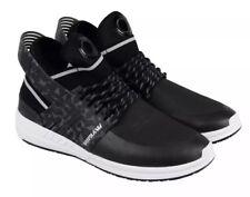 New Supra Skytop V Black, Silver & Gum Knit Skate Shoes Men's Sz 8