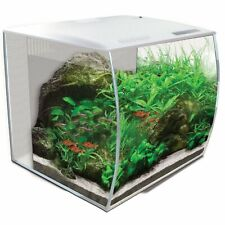 Fluval Flex 57 Liter LED Nano Aquarium mit Technick weiß