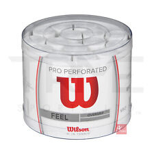 Wilson Pro Perforated Overgrip White 60 Tub