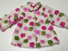 Cachcach Girls Jacket Size 2T~Boutique Brand Lined Faux Fur Coat~EUC