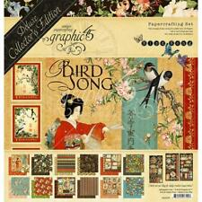 Deluxe Collector's Edition Bird Song Collection Scrapbooking Kit Graphic 45 New