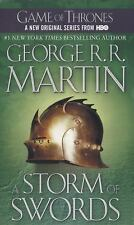 A Storm of Swords 3 A Song of Ice and Fire: by George R. R. Martin (2003, Paperb