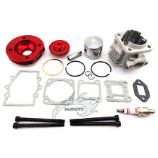Red 44mm Cylinder Piston Big Bore Kit For 47 49cc Mini Dirt ATV Pocket Bike Moto
