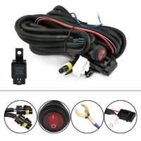 12V 40A LED Fog Light Driving Bar Wiring Loom Harness Kit Relay ON/OFF Switch
