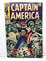 Captain America #107 Silver Age Comic Books! Marvel Higher-Grade