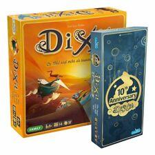 Dixit BUNDLE - Grundspiel + 10th Anniversary   DEUTSCH   Spiel des Jahres 2010