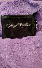 Juicy Couture Black Change Purse with strap