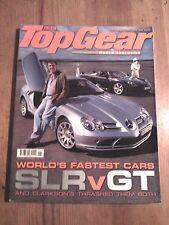 TOP GEAR MAGAZINE JUN-2004 - Porsche Carrera GT, Renault Megane 225, McLaren SLR