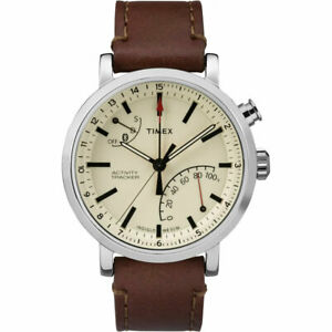 Timex Men's Watch Metropolitan+ Cream Dial Activity Tracker Smart TW2P92400
