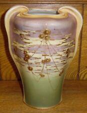 "Turn Teplitz Amphora Austria 576 Pottery Vase - 7 3/4"""