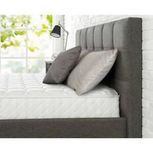 Luxurious Full Size Mattress Coil Spring 8 Inch Bed Bedroom  Back Pain Relief S