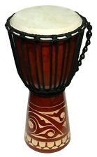 40 cm Profi Djembe Bongo Tribal Afrika Style Carving Trommel 26