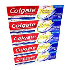COLGATE Total SF Advanced Whitening Toothpaste 5-pack 6.4 oz - Fast Shipping