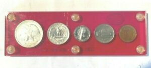 us coins 1941 PROOF SET IN HARD HOLDER