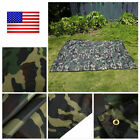 Camouflage Waterproof Sunshade Shelter Tent Awning Rainfly Tarp Outdoor Camping