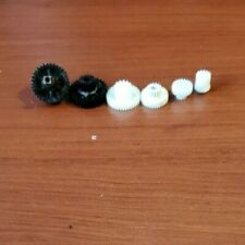 Samsung Powerbot 9000 Series Wheel Gears fix seized wheel/striped gears set of 6
