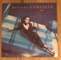 Belinda Carlisle – Heaven On Earth Vinyl LP Album 33rpm 1987 Virgin - V2496