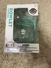 Pokemon Center Gallery Series Rowlet Leafage Skill Scene Kids Action Figure Toy