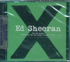 ED SHEERAN X SEALED CD NEW 2014