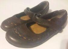 No Call Girls Womens Brown Mary Janes Shoes SZ 6 Medium