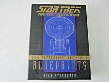Star Trek The Next Generation USS Enterprise NCC-1701-D Blueprints Sternbach