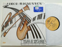 JAKOB MAGNUSSON Time Zone GERMANY LP VINYL 1986 Library Synth Jazz Funk Fusion