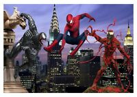 Marvel Spider-Man - Carnage Venom Cartoon Comic Book Wall Art Canvas Pictures