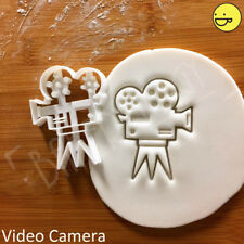 Video Camera cookie cutter |camcorder film maker gifts movie makers biscuit
