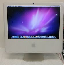 "Apple iMac A1195 17"" Core 2 Duo 1.86 GHz 2GB RAM 160GB HDD OS X 10.6 2007"