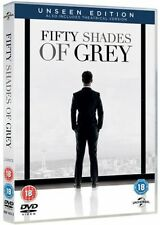 50 FIFTY SHADES OF GREY DVD UNSEEN EDITION SPECIAL BONUS 2 DISC BRAND NEW SEALED