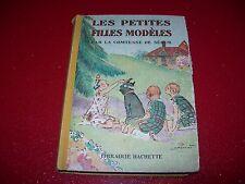 LIVRE JEUNESSE LA COMTESSE DE SEGUR  LES PETITES FILLS MODELES  1946