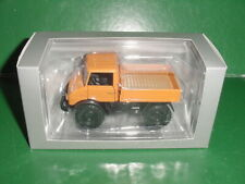 MERCEDES BENZ UNIMOG U 406 ORANGE 1/43 MINICHAMPS EN BOITE