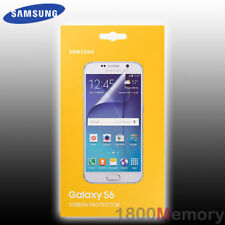 GENUINE Samsung Screen Protector 2Pack for Galaxy S6 SM-G920 Perfect Fit