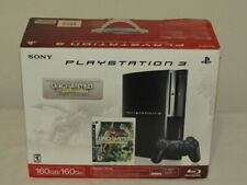 Open Box Sony PlayStation 3 160GB Black Console (CECH-P01) Limited Edition PS3