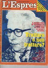 1978 04 16 - L'ESPRESSO - 16 04 1978 - N.15 - ANNO XXIV - ELEONORA MORO