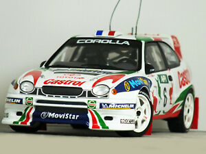 1:18 AUTOart TOYOTA COROLLA WRC *Rally Austraila 1998* CASTROL D.AURIOL RARE HTF