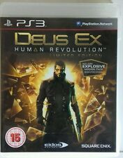 Deus Ex Human Revolution. Ps3. Fisico. Ingles