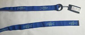 Vineyard Vines Men's Bonefish Icon Performance Belt Blue Sz.XL MSRP$68.00 NWT